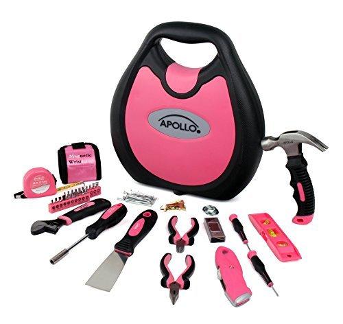 Ladies Maison Household Tool Kit plus atteint Bricolage Main Réparation appareil Set 39 pieces