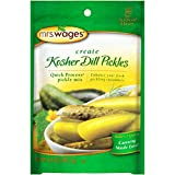 Mrs. Wages Kosher Dill Pickles Quick Process Mix (VALUE PACK of 6)