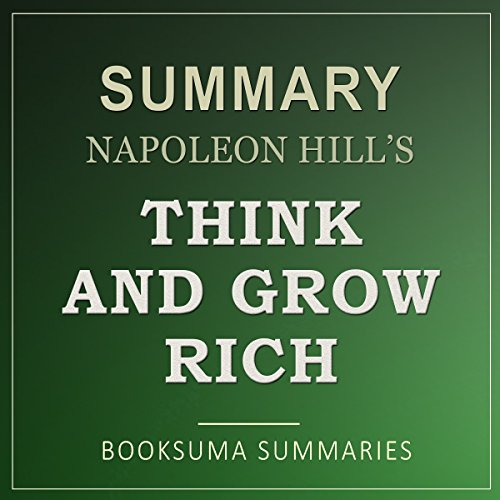 Summary of Think and Grow Rich audiobook cover art