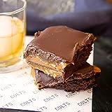 Colts Chocolates Whiskey Caramel Pecan Brownies, 2.5lb Bar (Serves 8-10)