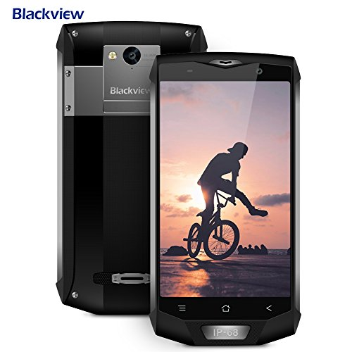 Blackview Telephone Portable Debloqué, BV8000 Pro 6+64GO 8+16MP de Caméra, Smartphones Etanche...