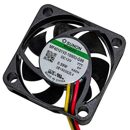 Fan 12V DC 0,48W 40x40x10mm 11,9m³/h 5800U/Min 11,9m³/h Sunon MF40101V21000UG99