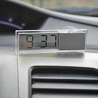 Mini Vintage Car Auto Vehicle LCD Digital Display Clock Portable Small