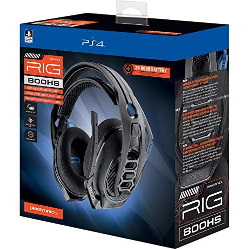 Plantronics RIG 800HS - Auriculares Estéreo Inalámbricos (PS4), Unisex