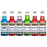 Best Snow Cone Syrups - Hawaiian Shaved Ice Sour Syrup 6 Pack, Pints Review