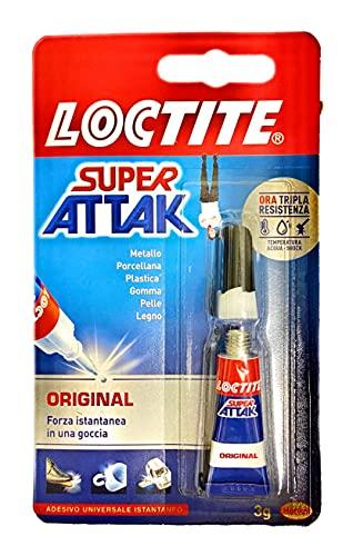 Super Attak colle original plus tube 3 grammes