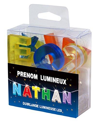 Guirlande Lumineuse LED prénom NATHAN