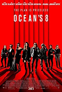 Ocean's 8 Movie POSTER 27 x 40 Sandra Bullock, Cate Blanchett, B, MADE IN THE U.S.A.