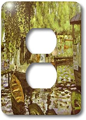 3dRose lsp/_212658/_6 Print of Medieval Castle Color Illustration 2 Plug Outlet Cover
