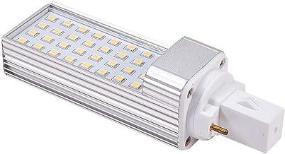 Othmro AC85-265V 6W 4000K LED Light Horizontal 2P Connection Light Tube G23 Transparent Cover 1pcs