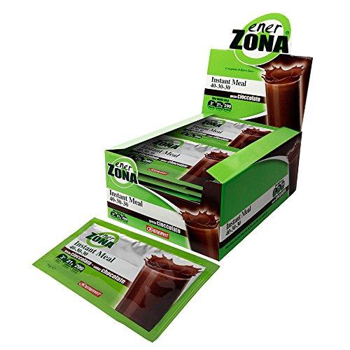 Enervit Enerzona Instant Meal Sostitutivo del pasto Box 20 X 50 gr (Cioccolato)