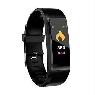 Davide Alisa Deportes Smart Band Ritmo Cardíaco Fitness Tracker Pulsera Inteligente Smartband Presión Arterial Inteligente Pulsera Inteligente Reloj Inteligente Hombres como Se Muestra Negro