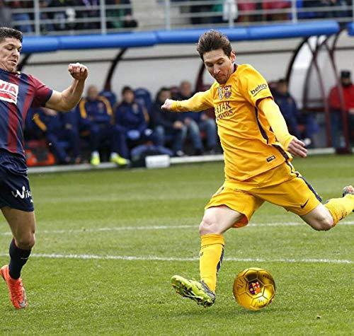 NTS 5# Un balón de fútbol Cargado de Oro/Plata/Rojo FCB Barcelona ...