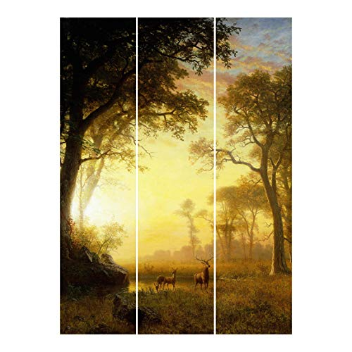 Tende scorrevoli Set - Bierstadt - 3 Pannelli Supporto a soffitto 250 x 180cm