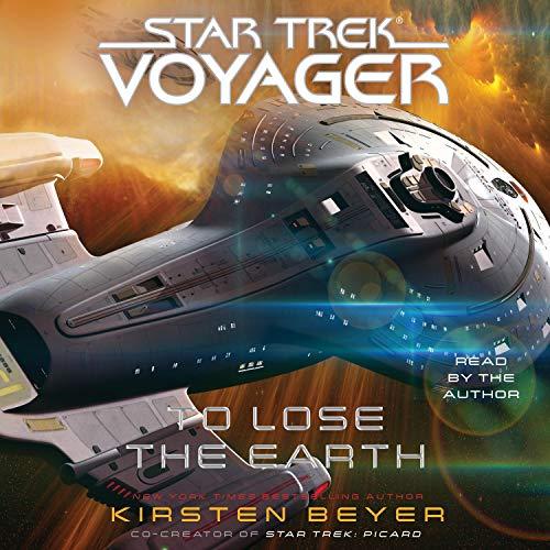 Page de couverture de Star Trek: Voyager: To Lose the Earth