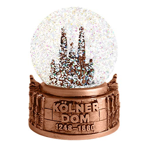 3forCologne Schneekugel Köln | Kölner Dom | Winterkugel | Limitierte Edition 2020 Kölner Dom | Köln Schneekugel | Schüttelkugel