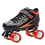 Roller Derby Viper M4 Paire de patins à roulettes Noir/rouge - multicolore - Black/Red,