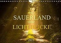 Das Sauerland voller Lichtblicke (Wandkalender 2022 DIN A4 quer): Das Sauerland im warmen Sonnenlicht (Monatskalender, 14 Seiten )