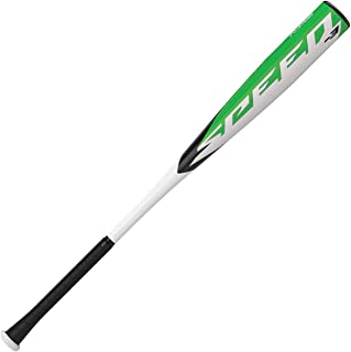 EASTON SPEED -3 BBCOR Baseball Bat   2 5/8 inch Barrel   1 Piece Aluminum   2020   ALX50 Military Grade Alloy   Cushioned 2.2mm Flex Grip   Forged End Cap