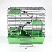 "Kaytee My First Home Multi-Level Habitat for Exotics, 30.5"" x 18"" x 30"""