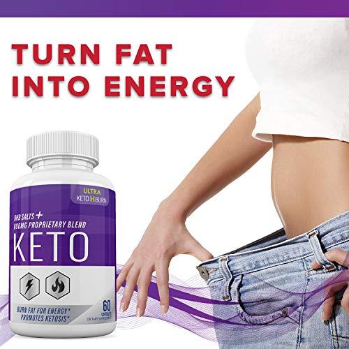 (5 Pack) Ultra Keto X Burn Shark Tank 800 mg, Ultra Keto X Burn Diet Pills Tablets Capsules, Pure Keto Fast Supplement for Energy, Focus - Exogenous Ketones for Men Women 7