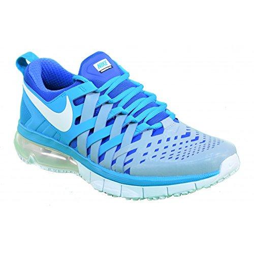 Nike Fingertrap Max Schuhe blue lagoon-white-dove grey-game royal - 42