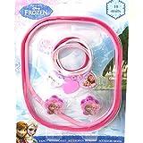 Reine des neiges [M5956 - Set accessoires cheveux 'Frozen rose (10 pièces)