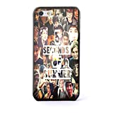 5 Second of Summer Cool Photo Collage for Iphone and Samsung Galaxy (iPhone 5c black)