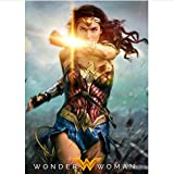 wqmdeshop Moive Poster Wonder Woman SEXY Actress Gal Gadot