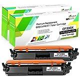 2 Negro Compatible 30X CF230X (30A CF230A Tóner Cartucho con Chip GREENPRINT 3,500 Páginas para HP Laserjet Pro M203d M203dn M203dw, MFP M227fdn M227fdw M227sdn M227d Impresora