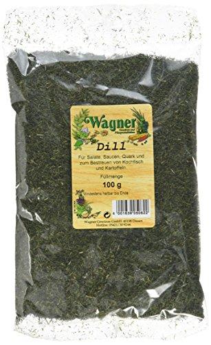 Wagner Gewürze Dill, 5er Pack (5 x 100 g)