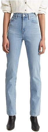 Levis 724 - Pantalones vaqueros rectos altos para mujer