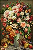 WXLSL Puzzles Muchas Flores Descompresión Y Versión Mejorada Artefacto De Madera 1000 Piezas Puzzles Juguetes para Adultos Regalos