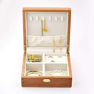 صندوق مجوهرات خشبي مربع عتيق من سوفت اليك - قافية من الربيع ميوزيك صندوق الحلية منظم مجوهرات صندوق صندوق صندوق صندوق هدايا...