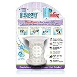 ShowerShroom Revolutionary 2' Stand-up Shower Stall Drain Protector Hair Catcher/Strainer 2', White