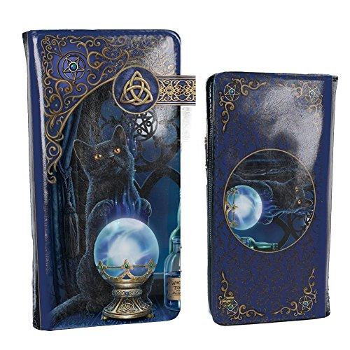 Nemesis Now Witches Apprentice Lisa Parker geprägte Geldbörse, 19 cm, violett, PU, Einheitsgröße
