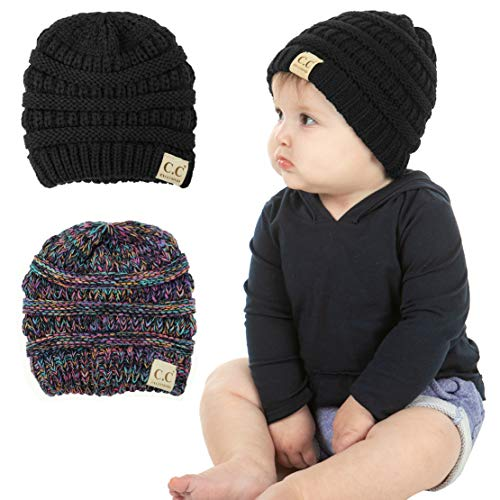 Funky Junque Exclusives' Baby Beanie Infant Skull Cap Knit