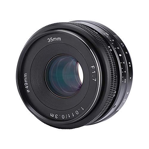 Topiky Objetivo APS-C de Gran Apertura F1.7 de 35 mm Objetivo APS-C para Montura EOS-M, Montura Sony-E, Montura Fuji-X, Montura M4 / 3, Montura Nikon-Z(para EOS-M)