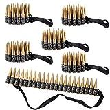 Oblique Unique® 6X Patronengürtel zum Umhängen Kinder Spielzeug Munitionsgürtel für...
