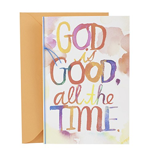 Hallmark Mahogany Religious Thinking of You Card (God is Good)