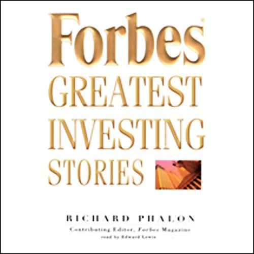 Forbes' Greatest Investing Stories audiobook cover art