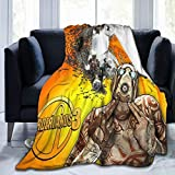 YoungMall Borderlands-3 Twin Size Flannel Fleece Velvet Plush Bed Blanket As Bedspread/Coverlet/Bed Cover/Blankets - Soft, Lightweight, Warm and Cozy.80'X60'