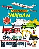 Un livre tout animé - véhicules