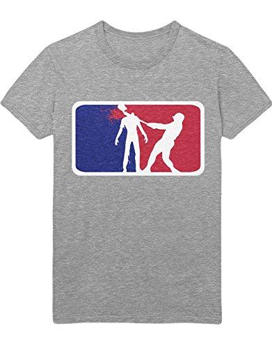 T-Shirt TWD NBA Logo Style C978247 Grau L