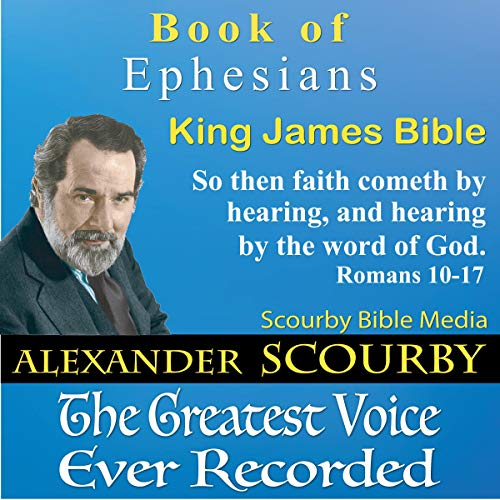 Book of Ephesians, King James Bible audiobook cover art