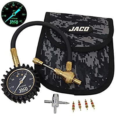 JACO RapidFlow Tire Deflator with Gauge (0-60 PSI) | Rapid 4x4 Off Road Air Down Kit