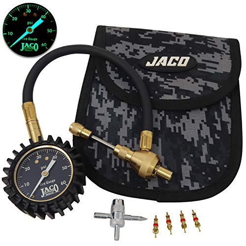 JACO RapidFlow Tire Deflator with Gauge (0-60 PSI) | Rapid 4x4 Off Road Air Down Kit