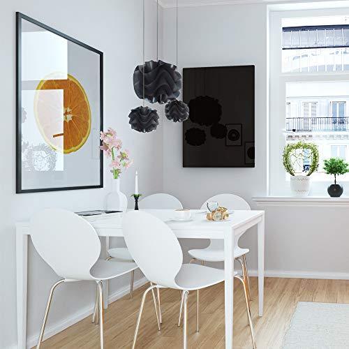 ETHERMA LAVA® Infrarotheizung Glasheizkörper 500 W 63 x 90 x 3 cm Oberfläche aus 6 mm Bild 4*