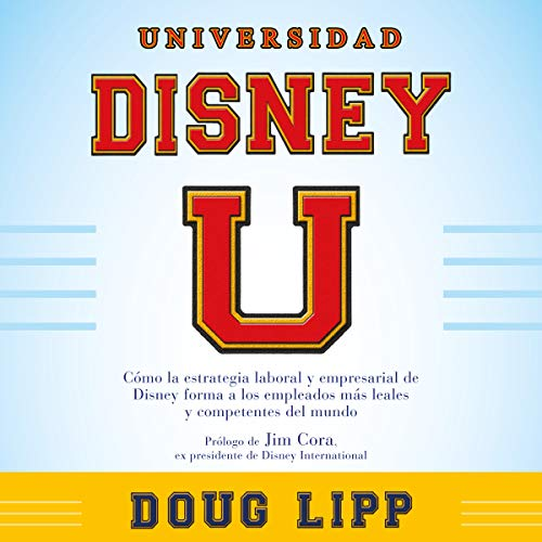 Universidad Disney [Disney University] audiobook cover art