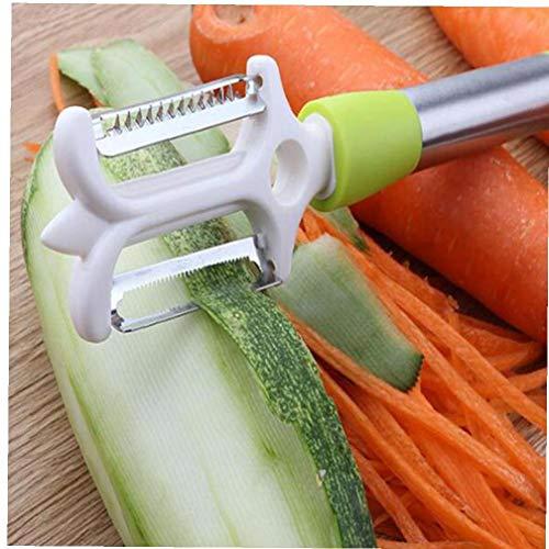 Schäler Für Gemüse Küche Peeling Zesters Für Kartoffeln Karotte Butternut Pastinaken Zucchini Gurke Zufällige Farbe